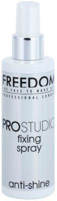 Freedom Pro Studio matirajoče pršilo za fiksiranje make-upa
