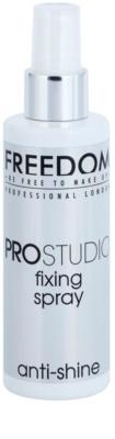Freedom Pro Studio spray fixador para base matificante