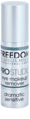 Freedom Pro Studio demachiant pentru ochi cu efect calmant