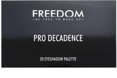 Freedom Pro Decadence Today´s Tonight Palette mit Lidschatten mit einem  Applikator 2