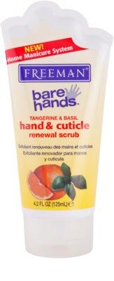 Freeman Bare Hands exfoliant regenerator pentru maini