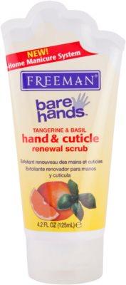 Freeman Bare Hands regeneráló peeling a kézre