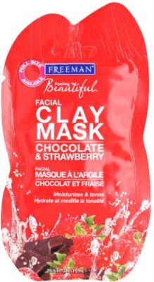 Freeman Feeling Beautiful Gesichtsmaske mit Kaolin mit feuchtigkeitsspendender Wirkung