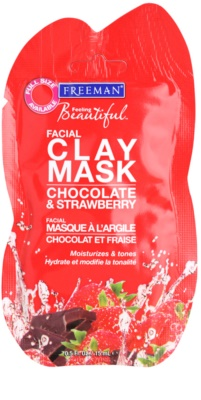 Freeman Feeling Beautiful kaolínová pleťová maska s hydratačním účinkem