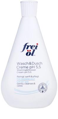 Frei Cleansing&Deodorants Duschcreme für trockene Haut pH 5,5