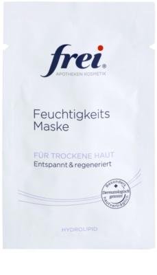 Frei Hydrolipid máscara facial calmante com efeito regenerador
