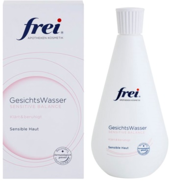 Frei Sensitive beruhigendes Gesichtswasser 1