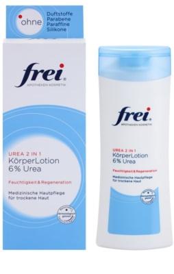 Frei Urea 2 in 1 hydratačné telové mlieko s regeneračným účinkom 1
