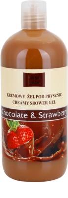 Fresh Juice Chocolate & Strawberry gel de ducha en crema