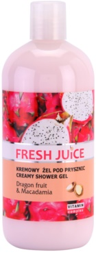 Fresh Juice Dragon Fruit & Macadamia gel cremos pentru dus