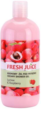 Fresh Juice Lychee & Raspberry gel de ducha en crema