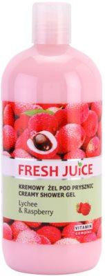 Fresh Juice Lychee & Raspberry кремовий гель для душу