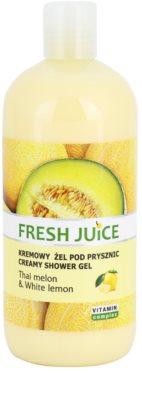 Fresh Juice Thai Melon & White Lemon kremowy żel pod prysznic