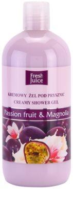 Fresh Juice Passion Fruit & Magnolia gel cremoso de duche