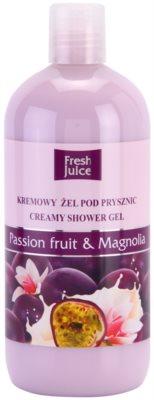Fresh Juice Passion Fruit & Magnolia gel de ducha en crema