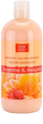 Fresh Juice Tangerine & Awapuhi krémový sprchový gél