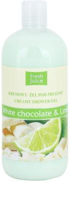Fresh Juice White Chocolate & Lime gel cremos pentru dus