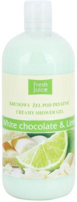 Fresh Juice White Chocolate & Lime krémový sprchový gel