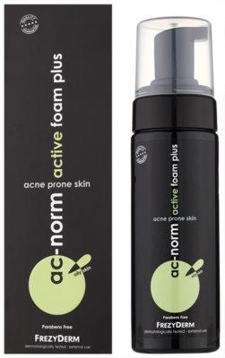 Frezyderm Ac-Norm espuma limpiadora activa para pieles grasas con tendencia acnéica 2