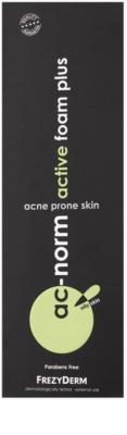 Frezyderm Ac-Norm espuma limpiadora activa para pieles grasas con tendencia acnéica 3