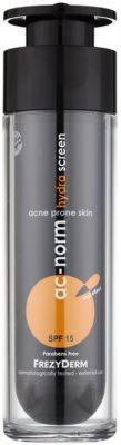 Frezyderm Ac-Norm crema hidratante protectora para pieles problemáticas SPF 15