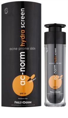 Frezyderm Ac-Norm crema hidratante protectora para pieles problemáticas SPF 15 1