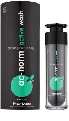 Frezyderm Ac-Norm emulsión limpiadora activa para pieles grasas con tendencia acnéica 1