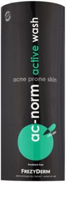 Frezyderm Ac-Norm emulsión limpiadora activa para pieles grasas con tendencia acnéica 2