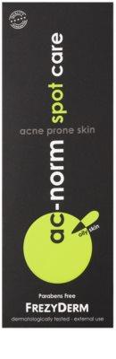 Frezyderm Ac-Norm tratamiento localizado con color para pieles grasas y problemáticas 2