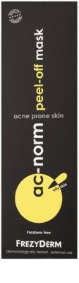 Frezyderm Ac-Norm čisticí slupovací maska pro mastnou pleť se sklonem k akné 2