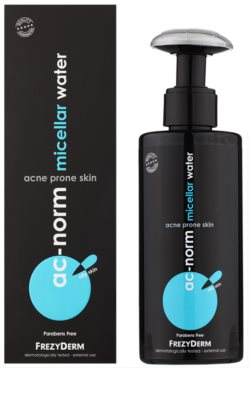 Frezyderm Ac-Norm agua micelar calmante para pieles grasas con tendencia acnéica 1