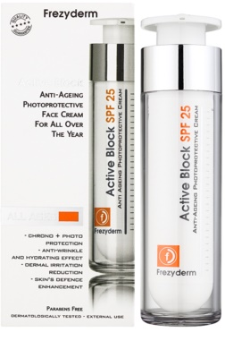Frezyderm Anti- Age Protecție crema anti-rid SPF 25 1