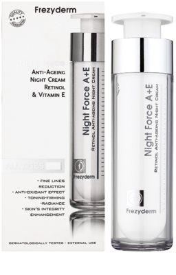 Frezyderm Anti- Age Antifalten-Nachtcreme mit Retinol und Vitamin E 1