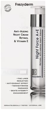 Frezyderm Anti- Age Antifalten-Nachtcreme mit Retinol und Vitamin E 2