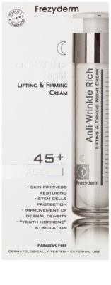 Frezyderm Anti- Age нічний крем проти зморшок з ефектом ліфтінгу 45+ 2