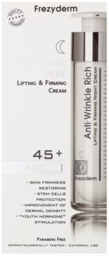 Frezyderm Anti- Age crema de noapte anti-rid cu efect de lifting 45+ 2