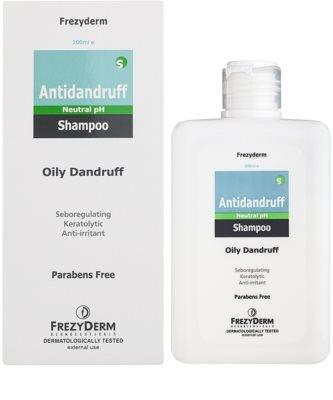 Frezyderm Antidandruff šampon proti mastným lupům 1