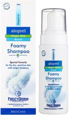 Frezyderm Atoprel pěnový šampon pro suchou a citlivou pokožku hlavy se sklonem k atopii 1