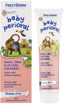 Frezyderm Baby відновлюючий та заспокоюючий догляд для шкіри навколо носу та губ 1