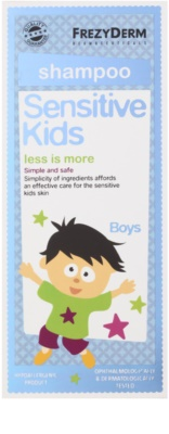 Frezyderm Sensitive Kids For Boys champú para el cuero cabelludo sensible e irritado 2