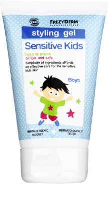 Frezyderm Sensitive Kids For Boys gel para dar definición al peinado para cabello