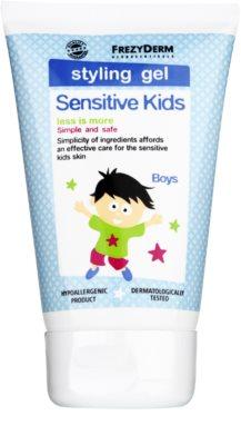 Frezyderm Sensitive Kids For Boys gel styling para cabelo