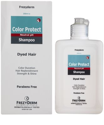 Frezyderm Color Protect szampon do ochrony koloru 1