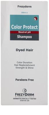 Frezyderm Color Protect szampon do ochrony koloru 2