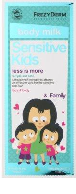 Frezyderm Sensitive Kids For Family feutigkeitsspendende Milch für empfindliche und gereizte Haut 2