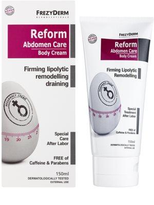 Frezyderm Feminine festigende remodellierende Creme für schlaffe Haut nach einer Schwangerschaft 1