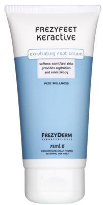 Frezyderm Frezyfeet crema exfoliante para pies con efecto hidratante y suavizante