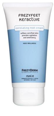 Frezyderm Frezyfeet exfoliačný krém na nohy s hydratačným a zvláčňujúcim účinkom