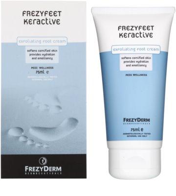 Frezyderm Frezyfeet Peelingcreme für die Beine mit feuchtigkeitsspendender und zartmachender Wirkung 1