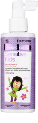 Frezyderm Sensitive Kids For Girls acondicionador en spray sin enjuague para cuero cabelludo sensible